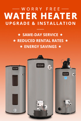 Free Water Heater Upgrade & Installation with DHO!